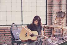 ギターの女の子❤