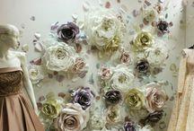 Wedding paper art gecor