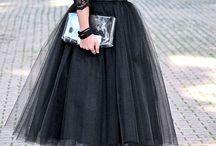 rochii cu tiul