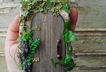 fairy doors / by Adrina Hyles