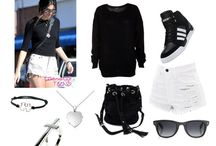 Polyvore outfits - Kylie and Kendall Jenner
