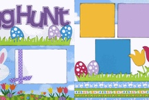 Scrapbook - Spring/Easter