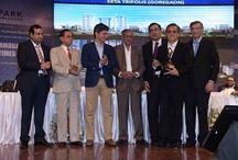 Accommodation Times Awards 2015 / EktaTripolis bags the 'Premium Integrated Mass Housing Project of the year' award at the Accommodation Times 2015.