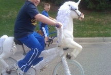 #don't be a hater / This kids riding a pony bike