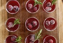 Seasonal Drinks / Try this delicious cocktail recipes at your Granary house party!