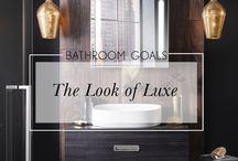 The Luxe Bathroom Look