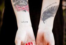 Body tattoo's