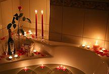 Romantika-gyertyafénnyel