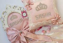 #mulpix Sasha bebeğin kapisüsü takı yastığı ve emzik zinciri   #urunumusatiyorum  #yeniyontem