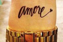 tattoos....