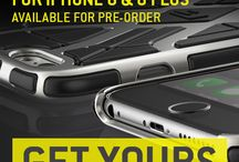 G-Form #iPhone 6 / 6 Plus Cases / The Ultimate Titanium & Carbon Cases for iPhone 6 & 6 Plus.  We now combine G-Form's thin, flexible impact protection technology with a beautifully detailed hi-tech shells. Lightweight, sleek, low-profile, impact protection – simply the best of all worlds.  Finally a case worthy of your iPhone 6 or 6 Plus. / by G-Form