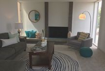 Mid Century Modern House - El Amigo Rd, Del Mar, CA / Home Staging By The BlueGrape Staging Team! June 2017