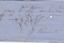 Maley Store Letters / In our archives we have hundreds of notes written in the 1860-70s, shop orders, messages, etc.