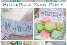 Sugar Plum Fairy Birthday Party Ideas