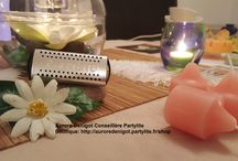 Déco Partylite thème Zen et Nature / Dans ce tableau, vous découvrirez ma table du moment sur le thème Zen et Nature  Boutique: http://auroredenigot.partylite.fr/shop