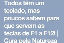 teclado f1 a f12