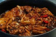 Surinaamse kip uit de oven