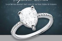 Inele din argint - Corelle Bijuterii Argint / Descopera cea mai frumoasa colectie cu inele din argint! Silver jewelry collection