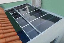 telhado tranparente