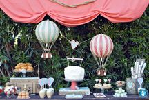 Hot Air Balloon Shower / by Lux Events and Design