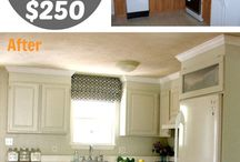 DIY / Do it yourself projects for updating a home