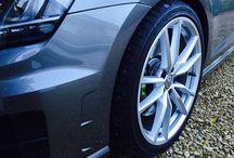 """VW Golf R (2015) / 5 Door VW Golf R manual in Limestone Grey with 19"""" Pretoria Alloys - Oettinger ECU upgrade to 360bhp"""