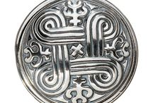 Ethnic jewelry Finnish Kalevala
