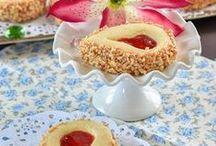 sablés de confiture de fraises