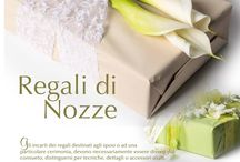 Pacchi regalo per Nozze; Packaging gifts for wedding
