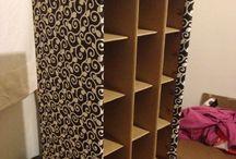 Creare con le scatole di cartone