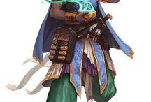 RPG - personagens prontos