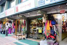 Delhi Street Shopping
