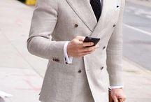 муж двубортный пиджак