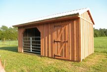 Tiny Places / Small barns, trailers and homes. Look at them all what makes you happy?