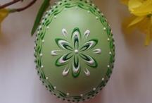 Velikonoce / Velikonoce, výzdoba, dekorace, nápady, zdobení vajíček..