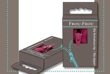 Ma fermeture à glissière / Fermeture à glissière déclinée dans les 48 coloris Frou-Frou, dans les tailles 15, 20 et 25 cm. Ces fermetures à glissière, en aluminium, acier inoxydable et textile 100% polyester, sont lavables en machine à 30°.
