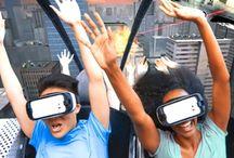 Parc Distractie Virtual / Parc distractie virtual rollercoaster
