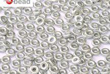 O bead® | ScaraBeads.com / http://www.scarabeads.com/Glass-BEADS/O-bead