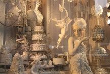 * Holiday Window Fronts * / by Karen {icandyvintagejewels}