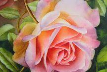 Art: Doris Joa, watercolorist