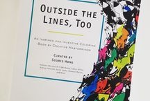 OUTSIDE THE LINES, TOO: An Inspired and Inventive Coloring Book By Creative Masterminds / http://bit.ly/OutsideTheLinesToo