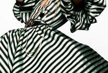 Striped fashion  / by Lydia Lydia
