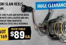 2015 Fishing Sales / Discover the most amazing fishing deals this year on Dinga Fishing.