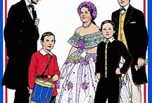 Paper Dolls: US Presidents & Families