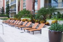 Outdoor Design Project  / Residential building! Great outdoor project deivered at South Tower in Miami! If you need contemporary, durable, stylish outdoor furniture, please visit our Showroom in Miami: 4520 Ponce de Leon Blvd. 33146. Or visit our website: www.azulandco.com