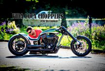 "Softail Harley ""Raptor"" Designed by Vida Loca Choppers / Softail Harley Raptor Designed by Vida Loca Choppers in 2014"