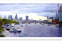London Landscapes Art Posters