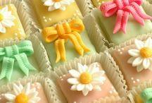 Macarons and Petit Fours
