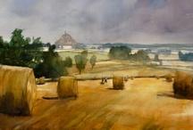 My work / I'm a french painter, mostly watercolorist. www.joeltenzin.com