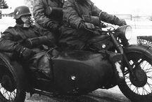 motorbike WW2